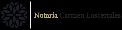 Notaría Carmen Loscertales